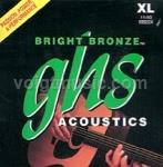 BB20X GHS Acoustic Guitar Strings - Bright Bronze Extra Light 11-50