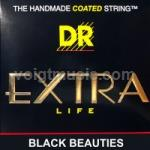 DR BKB545 Black Beauties 5 -String Round Bass Strings