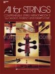 All for Strings - String Bass - Book 3