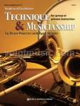 Tradition of Excellence Technique & Musicianship - Euphonium TC