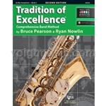 Tradition of Excellence - Eb Alto Saxophone - Book 3