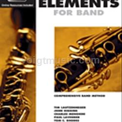 Clarinet Book 1 EEi - Essential Elements for Band