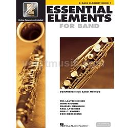 Bass Clarinet Book 1 EEi - Essential Elements for Band