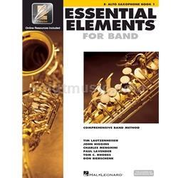 Saxophone (Alto) Book 1 EEi - Essential Elements for Band