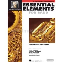 Saxophone (Baritone) Book 2 EEi - Essential Elements for Band