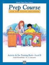 Alfred's Basic Piano Prep Course - Activity & Ear Training - Book E