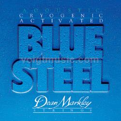 Dean Markley 2033 Blue Steel TLT 11-52 Acoustic Guitar Strings