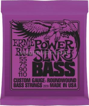 Ernie Ball 2831 Bass Guitar Strings - Power Slinky 55-110