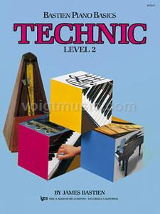 Bastien Piano Basics - Level 2 Technic