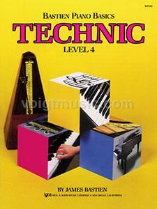 Bastien Piano Basics - Level 4 Technic
