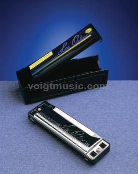 1710HMBFLAT Lee Oskar Harmonica - Harmonic Minor Key of Bb