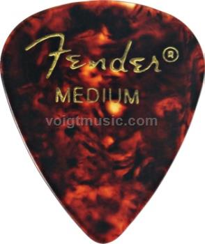 Fender 0980351850 Medium Celluloid Picks - Confetti - Pack of 12