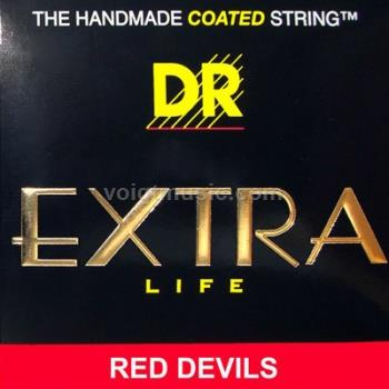 DR RDB Red Devils Coated Electric Bass Strings