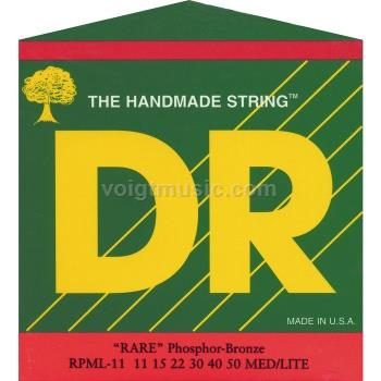 DR RP RARE Phosphor Bronze Acoustic Guitar Strings