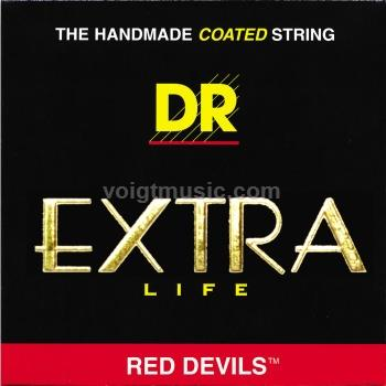 DR RDE Red Devils Coated Electric Guitar Strings