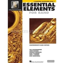 Saxophone (Baritone) Book 1 EEi - Essential Elements for Band