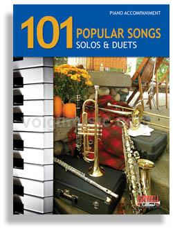 101 Popular Songs for Brass & Reed - Piano Accompaniment