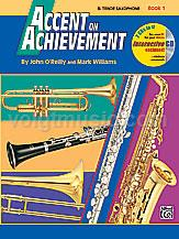 Accent on Achievement - Tenor Sax - Book 1