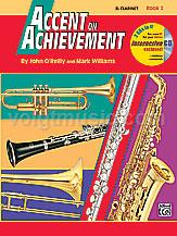 Accent on Achievement - Clarinet - Book 2
