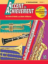 Accent on Achievement - Tenor Sax - Book 2