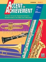 Accent on Achievement - Trombone - Book 3