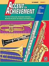Accent on Achievement - Clarinet - Book 3