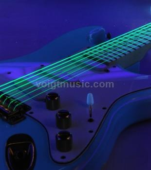 DR NGE Neon Green Guitar Strings