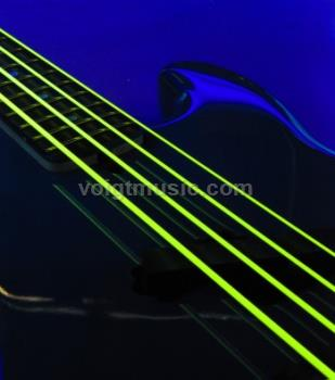 DR NYB45 Neon Yellow Bass Strings 45-105