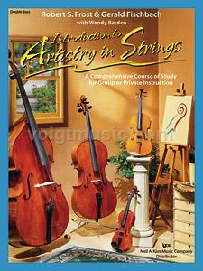 Introduction To Artistry In Strings - Double Bass (Book & CD)