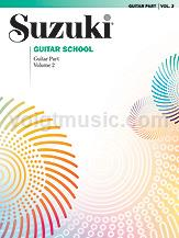 Suzuki Guitar School Guitar Part - Volume 2