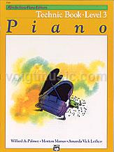 Alfred's Basic Piano Library - Technic Book - 3