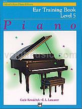 Alfred's Basic Piano Library Ear Training Book 5