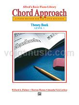 Alfred's Basic Piano - Chord Approach Theory Book - 1