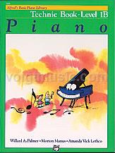 Alfred's Basic Piano Library - Technic Book - 1B