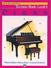 Alfred's Basic Piano Library - Technic Book - 4