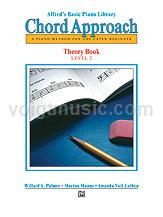 Alfred's Basic Piano - Chord Approach Theory Book - 2