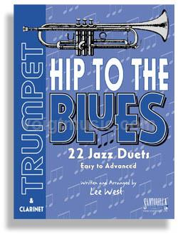 Hip to the Blues Jazz Duets w/ CD - Trumpet