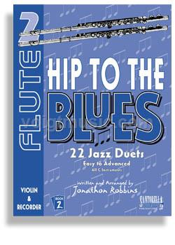 Hip to the Blues Duets w/ CD - Flute Book 2