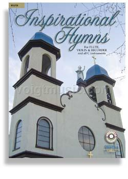 Inspirational Hymns w/ CD - Flute