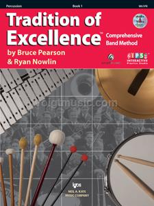 Percussion - TOE - Book 1