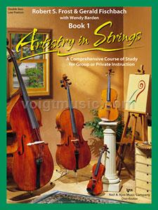 Artistry In Strings - Double Bass-Low Position - Book 1(Book Only)