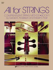 All for Strings - Cello - Book 1