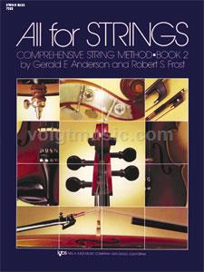 All for Strings - String Bass - Book 2