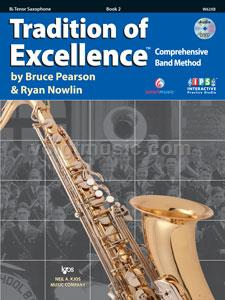 Bb Tenor Saxophone - TOE - Book 2